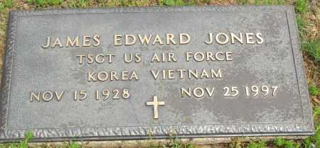 JONES (VETERAN 2 WARS), JAMES EDWARD - Logan County, Arkansas | JAMES EDWARD JONES (VETERAN 2 WARS) - Arkansas Gravestone Photos