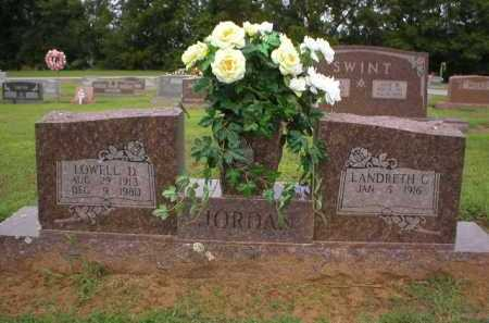 JORDAN, LOWELL D - Logan County, Arkansas | LOWELL D JORDAN - Arkansas Gravestone Photos