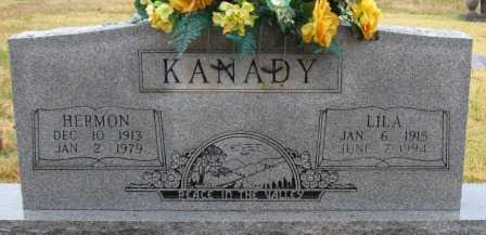 KANADY, HERMON - Logan County, Arkansas | HERMON KANADY - Arkansas Gravestone Photos