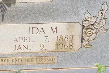 KELLEY, IDA M. (CLOSE UP) - Logan County, Arkansas | IDA M. (CLOSE UP) KELLEY - Arkansas Gravestone Photos