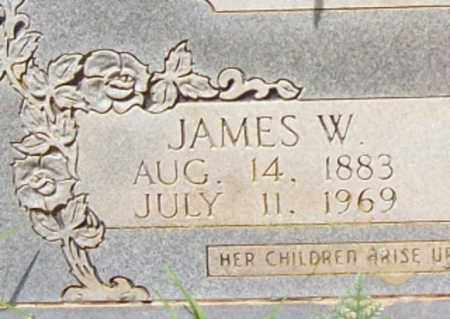 KELLEY, JAMES W (CLOSE UP) - Logan County, Arkansas | JAMES W (CLOSE UP) KELLEY - Arkansas Gravestone Photos