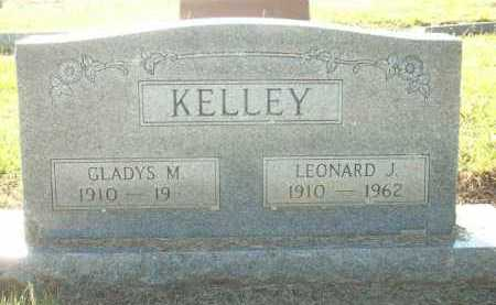 KELLY, LEONARD J. - Logan County, Arkansas | LEONARD J. KELLY - Arkansas Gravestone Photos