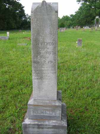 KENEDY, R  W  (ROBERT WILLIAM) - Logan County, Arkansas | R  W  (ROBERT WILLIAM) KENEDY - Arkansas Gravestone Photos