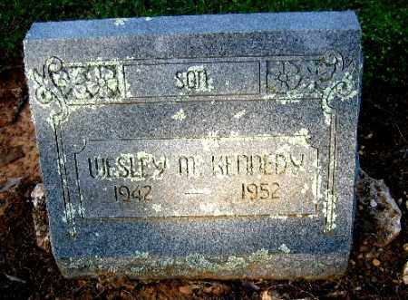 KENNEDY, WESLEY M. - Logan County, Arkansas | WESLEY M. KENNEDY - Arkansas Gravestone Photos