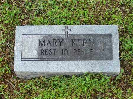 KERN, MARY - Logan County, Arkansas | MARY KERN - Arkansas Gravestone Photos
