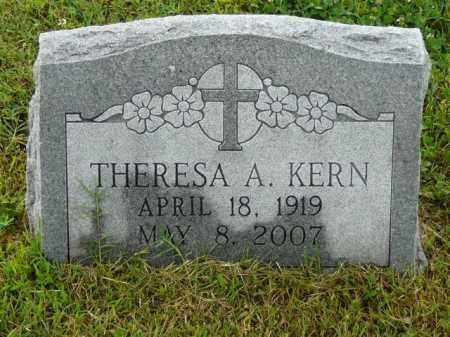 KERN, THERESA - Logan County, Arkansas | THERESA KERN - Arkansas Gravestone Photos