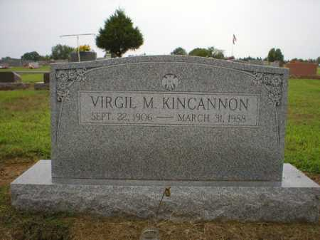 KINCANNON, VIRGIL M. - Logan County, Arkansas | VIRGIL M. KINCANNON - Arkansas Gravestone Photos