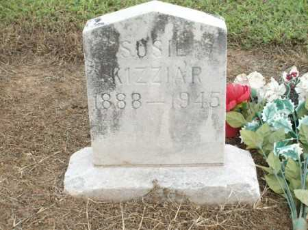 KIZZIAR, SUSIE - Logan County, Arkansas | SUSIE KIZZIAR - Arkansas Gravestone Photos