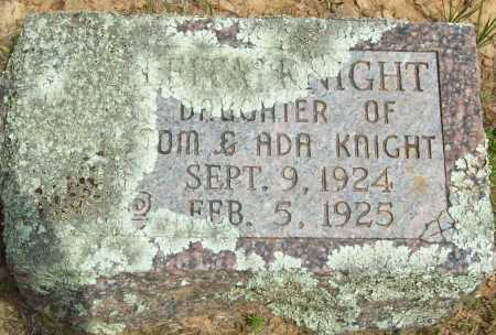 KNIGHT, LEITA - Logan County, Arkansas | LEITA KNIGHT - Arkansas Gravestone Photos