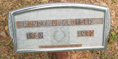 KRUEGER, RANDY D. - Logan County, Arkansas | RANDY D. KRUEGER - Arkansas Gravestone Photos