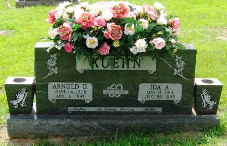 COLLIER KUEHN, IDA ANNA - Logan County, Arkansas | IDA ANNA COLLIER KUEHN - Arkansas Gravestone Photos