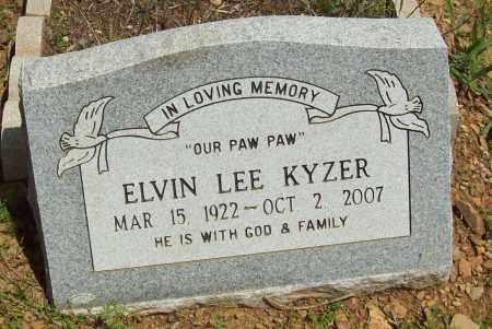 KYZER, ELVIN LEE - Logan County, Arkansas | ELVIN LEE KYZER - Arkansas Gravestone Photos
