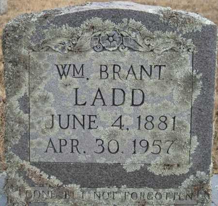 LADD, WILLIAM BRANT - Logan County, Arkansas | WILLIAM BRANT LADD - Arkansas Gravestone Photos