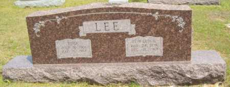 LEE, EDWARD B. - Logan County, Arkansas | EDWARD B. LEE - Arkansas Gravestone Photos
