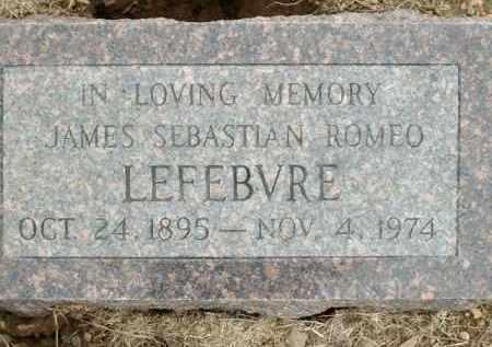 LEFEBVRE, JAMES SEBASTIAN ROMEO - Logan County, Arkansas | JAMES SEBASTIAN ROMEO LEFEBVRE - Arkansas Gravestone Photos