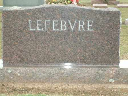 LEFEBVRE, LILLIAN MARIE - Logan County, Arkansas | LILLIAN MARIE LEFEBVRE - Arkansas Gravestone Photos