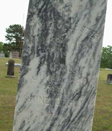 LEISTER (VETERAN UNION), DAVID R - Logan County, Arkansas | DAVID R LEISTER (VETERAN UNION) - Arkansas Gravestone Photos