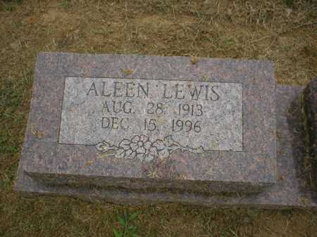 LEWIS, ALEEN - Logan County, Arkansas | ALEEN LEWIS - Arkansas Gravestone Photos