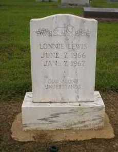 LEWIS, LONNIE - Logan County, Arkansas | LONNIE LEWIS - Arkansas Gravestone Photos