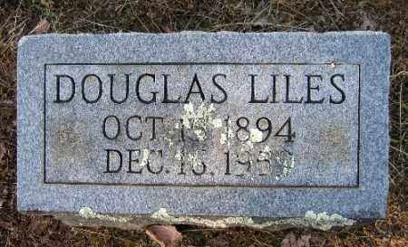 LILES, DOUGLAS - Logan County, Arkansas | DOUGLAS LILES - Arkansas Gravestone Photos