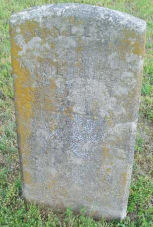 LOW, MARY L. - Logan County, Arkansas | MARY L. LOW - Arkansas Gravestone Photos