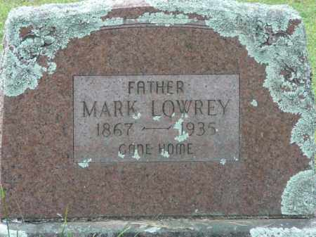 LOWREY, MARK - Logan County, Arkansas | MARK LOWREY - Arkansas Gravestone Photos