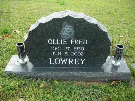 LOWREY, OLLIE - Logan County, Arkansas | OLLIE LOWREY - Arkansas Gravestone Photos