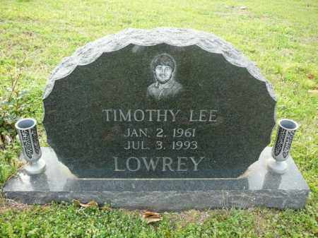 LOWREY, TIMOTHY - Logan County, Arkansas | TIMOTHY LOWREY - Arkansas Gravestone Photos