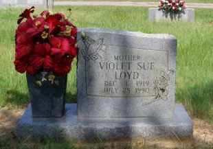 LOYD, VIOLET SUE - Logan County, Arkansas | VIOLET SUE LOYD - Arkansas Gravestone Photos