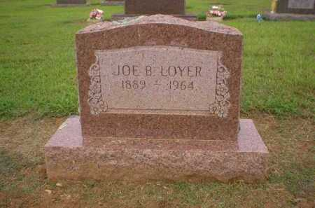 LOYER, JOE B. - Logan County, Arkansas | JOE B. LOYER - Arkansas Gravestone Photos