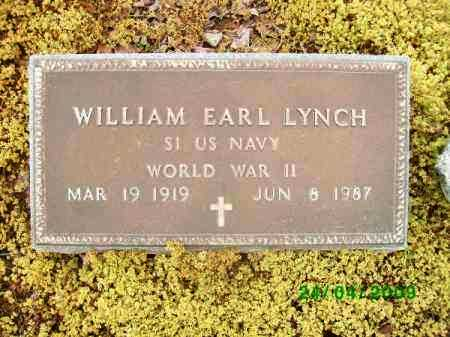 LYNCH (VETERAN WWII), WILLIAM EARL - Logan County, Arkansas | WILLIAM EARL LYNCH (VETERAN WWII) - Arkansas Gravestone Photos