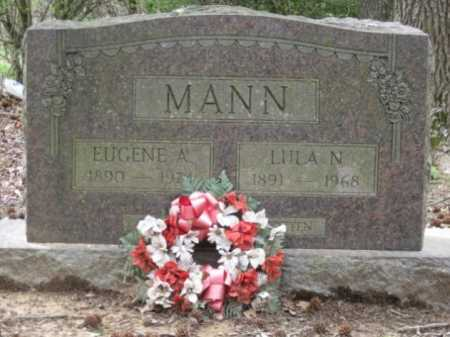 MANN, LULA N - Logan County, Arkansas | LULA N MANN - Arkansas Gravestone Photos