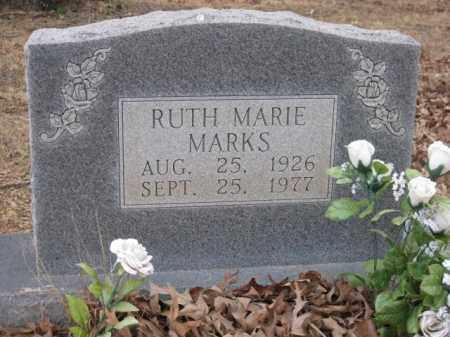 MARKS, RUTH MARIE - Logan County, Arkansas | RUTH MARIE MARKS - Arkansas Gravestone Photos