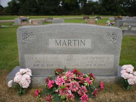 MARTIN, LUCILLE - Logan County, Arkansas | LUCILLE MARTIN - Arkansas Gravestone Photos