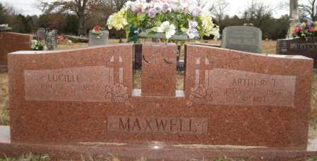 MAXWELL, LUCILLE - Logan County, Arkansas | LUCILLE MAXWELL - Arkansas Gravestone Photos