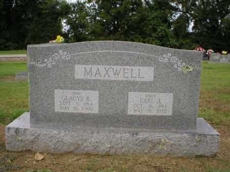MAXWELL, GLADYS - Logan County, Arkansas | GLADYS MAXWELL - Arkansas Gravestone Photos