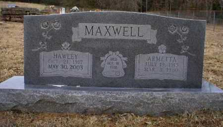 MAXWELL, HAWLEY - Logan County, Arkansas | HAWLEY MAXWELL - Arkansas Gravestone Photos