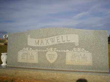 MAXWELL, DELLA A. - Logan County, Arkansas | DELLA A. MAXWELL - Arkansas Gravestone Photos