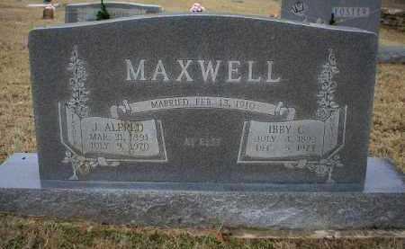MAXWELL, J  ALFRED - Logan County, Arkansas | J  ALFRED MAXWELL - Arkansas Gravestone Photos