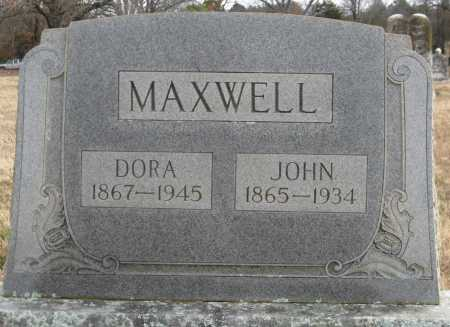 MAXWELL, DORA - Logan County, Arkansas | DORA MAXWELL - Arkansas Gravestone Photos