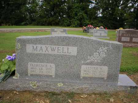 SHARP MAXWELL, FLORENCE - Logan County, Arkansas | FLORENCE SHARP MAXWELL - Arkansas Gravestone Photos