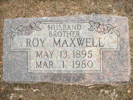 MAXWELL, ROY - Logan County, Arkansas | ROY MAXWELL - Arkansas Gravestone Photos