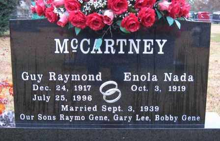 MCCARTNEY, GUY RAYMOND - Logan County, Arkansas | GUY RAYMOND MCCARTNEY - Arkansas Gravestone Photos