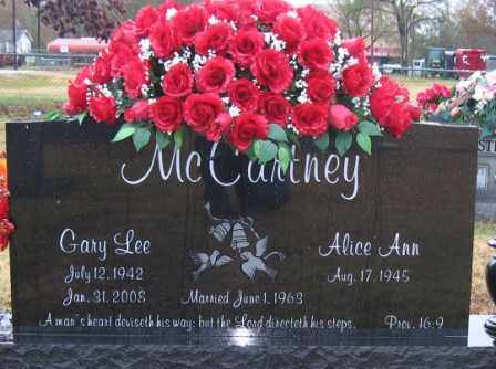 MCCARTNEY, GARY LEE - Logan County, Arkansas | GARY LEE MCCARTNEY - Arkansas Gravestone Photos