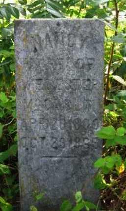 HICKS MCCASLIN, NANCY - Logan County, Arkansas | NANCY HICKS MCCASLIN - Arkansas Gravestone Photos