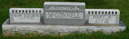 MCCONNELL,  JR., ESTER C. - Logan County, Arkansas | ESTER C. MCCONNELL,  JR. - Arkansas Gravestone Photos