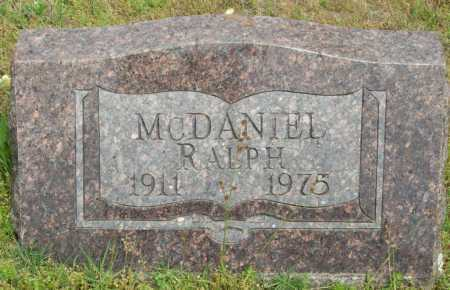 MCDANIEL, RALPH - Logan County, Arkansas | RALPH MCDANIEL - Arkansas Gravestone Photos