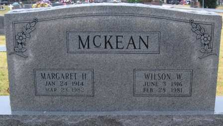 MCKEAN, WILSON W. - Logan County, Arkansas | WILSON W. MCKEAN - Arkansas Gravestone Photos