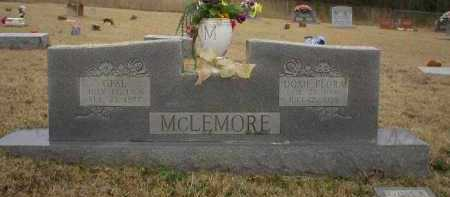 MCLEMORE, DOXIE FLORA - Logan County, Arkansas | DOXIE FLORA MCLEMORE - Arkansas Gravestone Photos