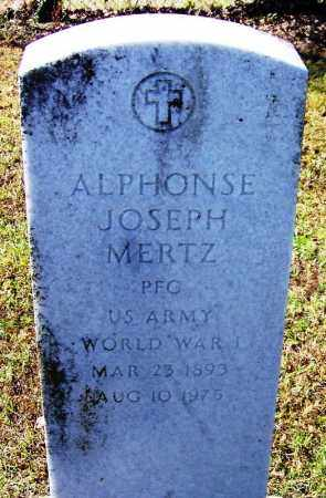 MERTZ (VETERAN WWI), ALPHONSE JOSEPH - Logan County, Arkansas | ALPHONSE JOSEPH MERTZ (VETERAN WWI) - Arkansas Gravestone Photos